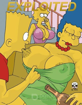 Simpsons porn Marge Exploited
